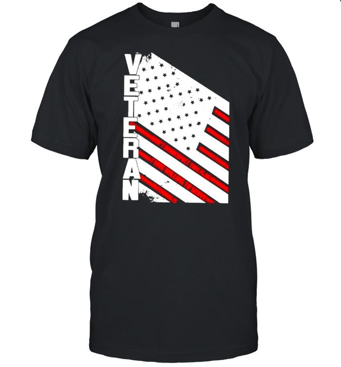 Veteran American flag 2021 shirt Classic Men's T-shirt