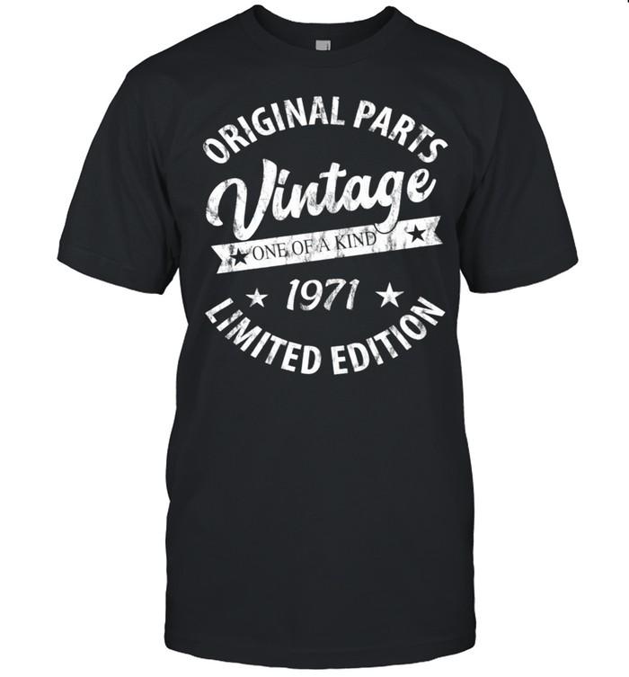 Vintage Born in 1971 shirt Classic Men's T-shirt