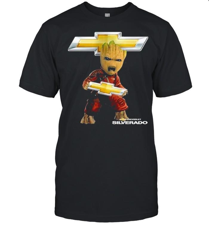 Baby groot hug chevrolet silverado shirt Classic Men's T-shirt
