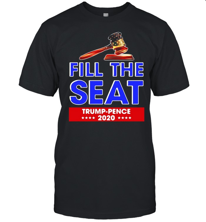 Fill The Seat Trump Pence 2020 shirt Classic Men's T-shirt