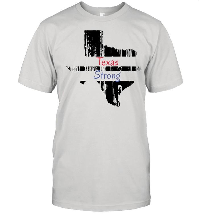 Texas Strong Survived Covvid 2021 shirt Classic Men's T-shirt