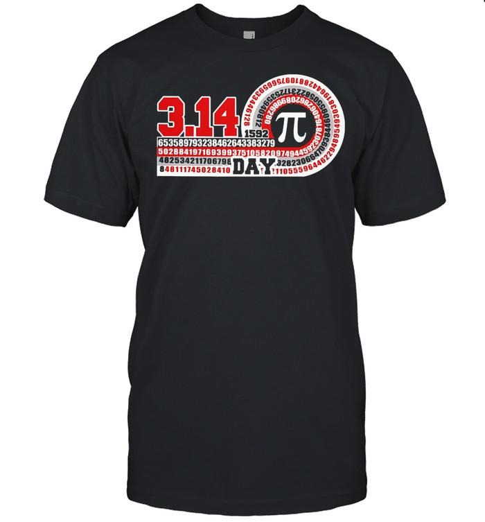 Science pi day shirt Classic Men's T-shirt