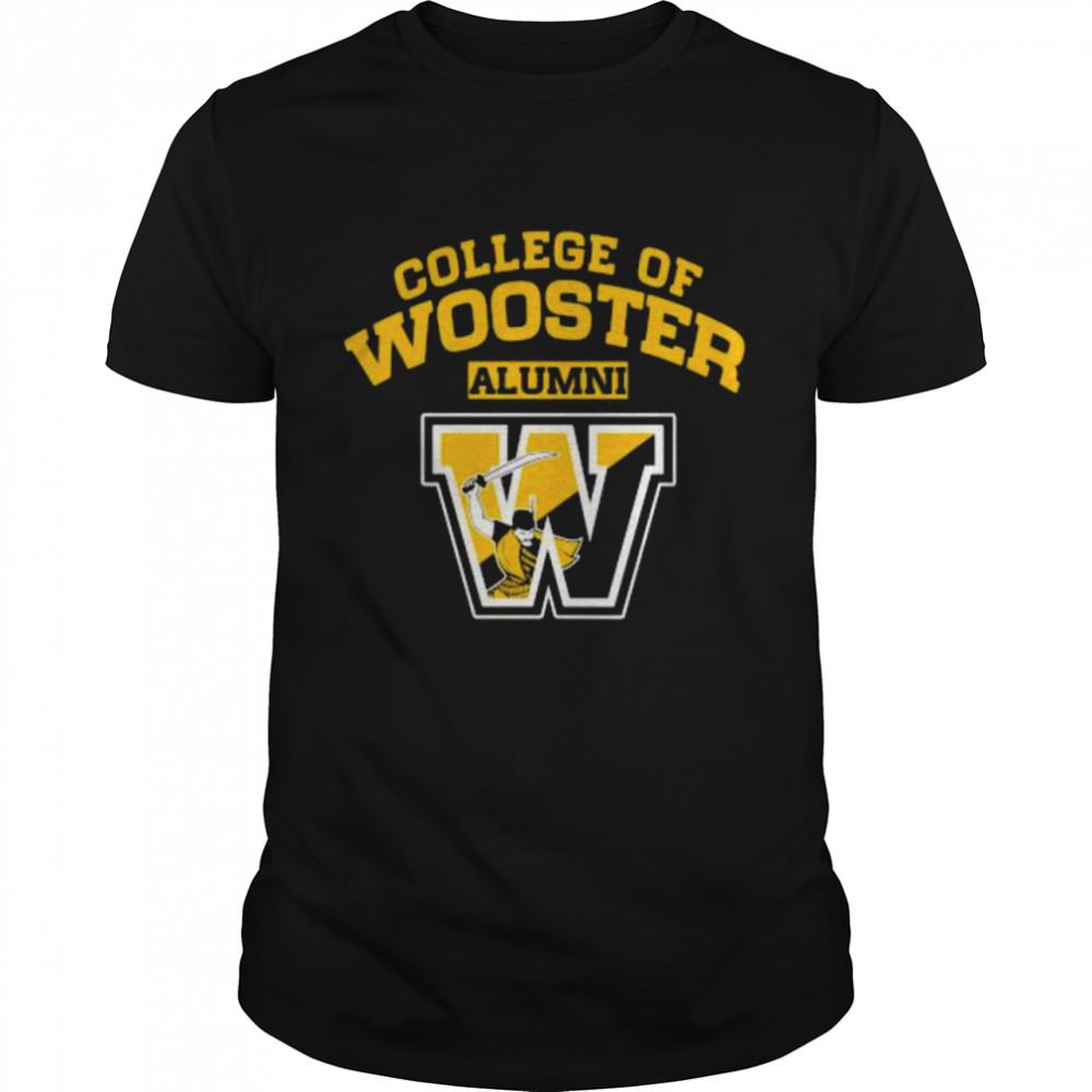 College Of Wooster Alumni  Classic Men's T-shirt