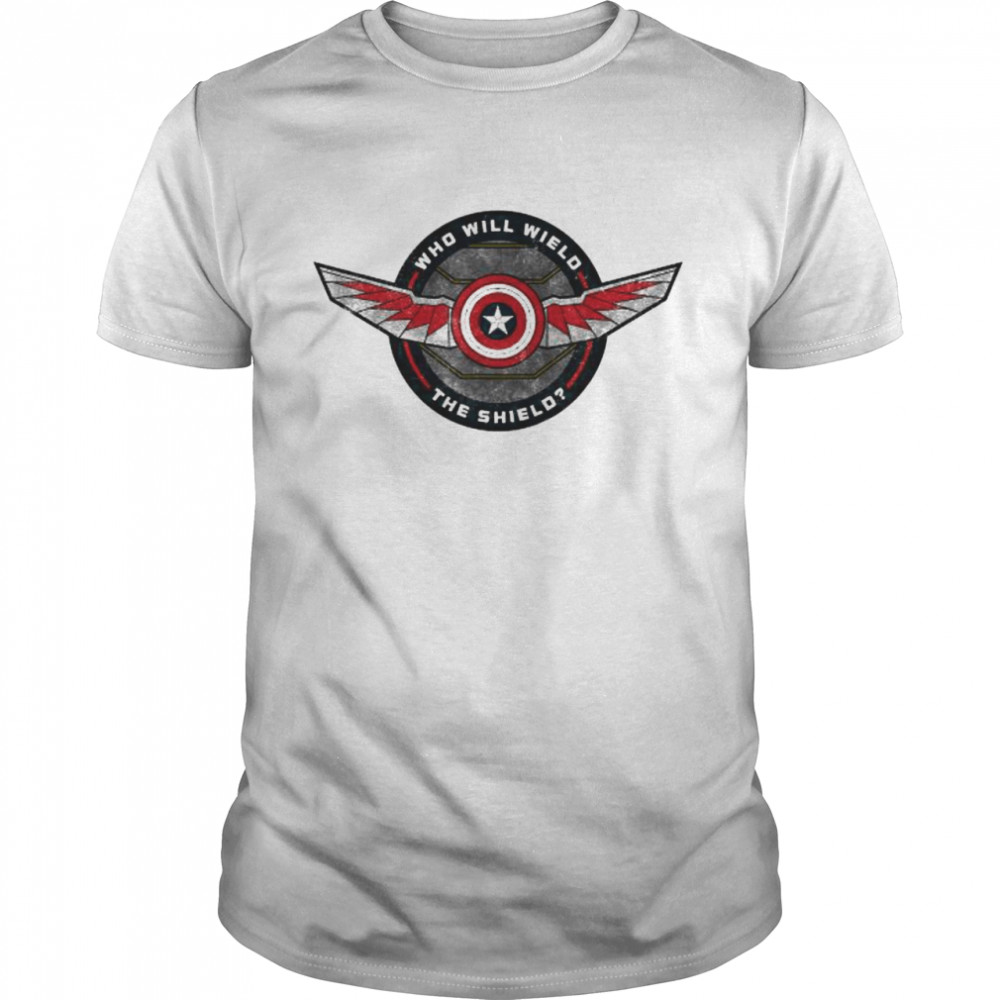 Marvel The Falcon And The Winter Soldier Falcon Wings  Classic Men's T-shirt