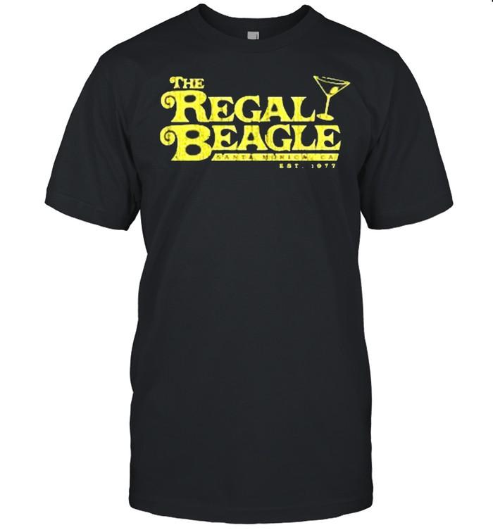 The Regal Beagle santa monica ca est 1977 shirt Classic Men's T-shirt