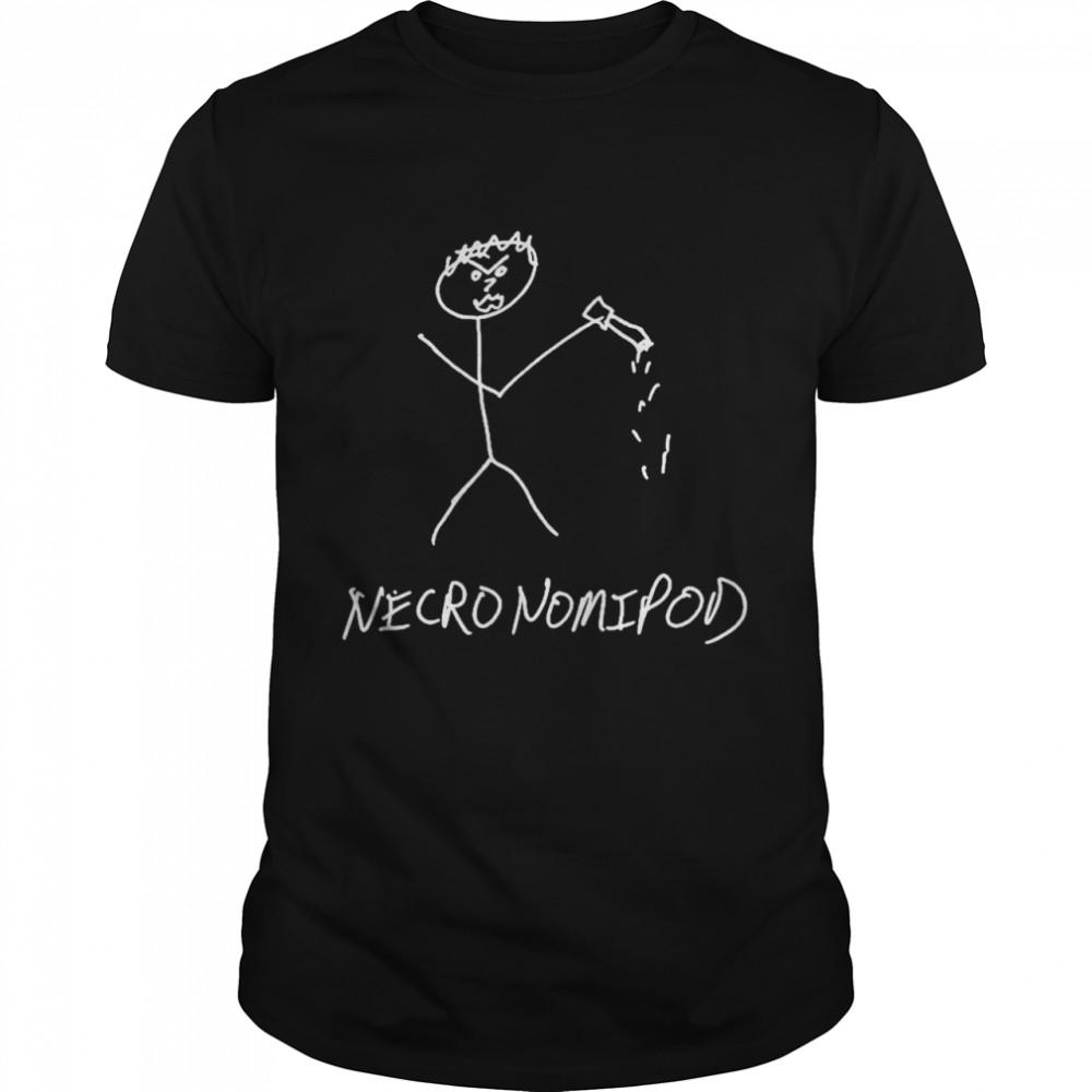 Necronomipod Stick Figure Mike shirt Classic Men's T-shirt