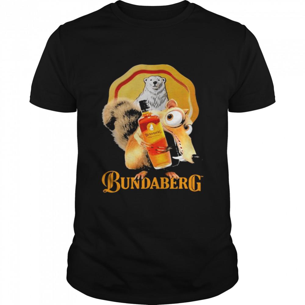 Squirrel Scrat With Logo Bundaberg  Classic Men's T-shirt