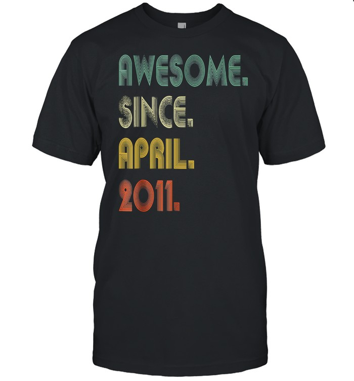 Awesome Since April 2011  Classic Men's T-shirt
