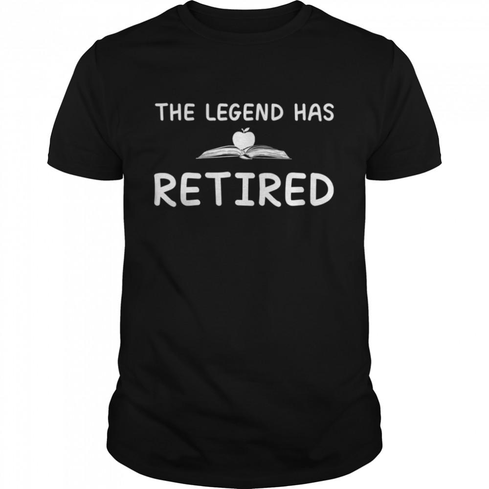 The legend has retired shirt Classic Men's T-shirt