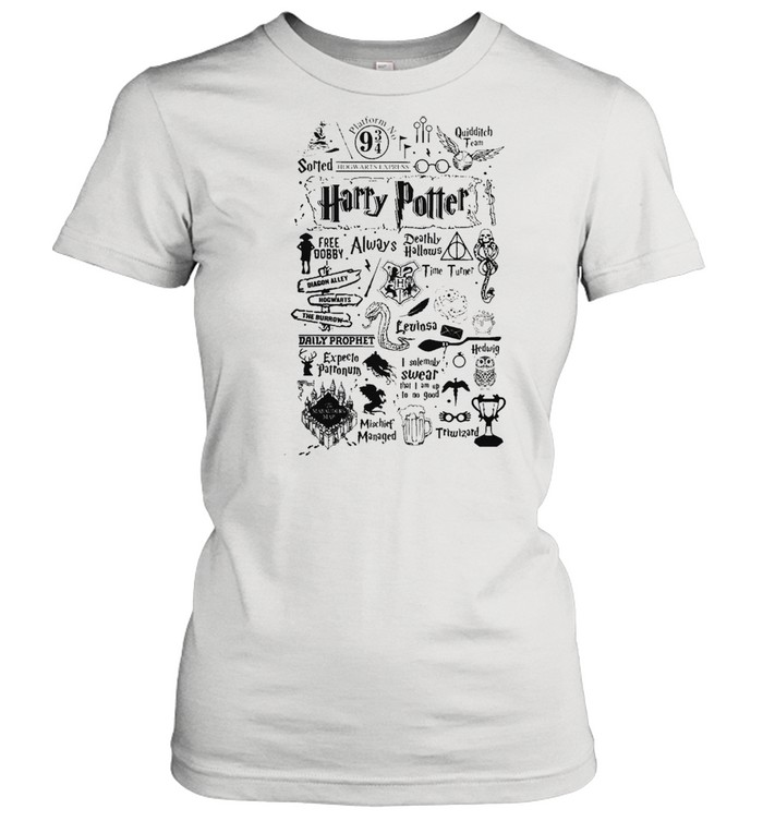 harry potter free dobby always deathly hallows shirt classic womens t shirt