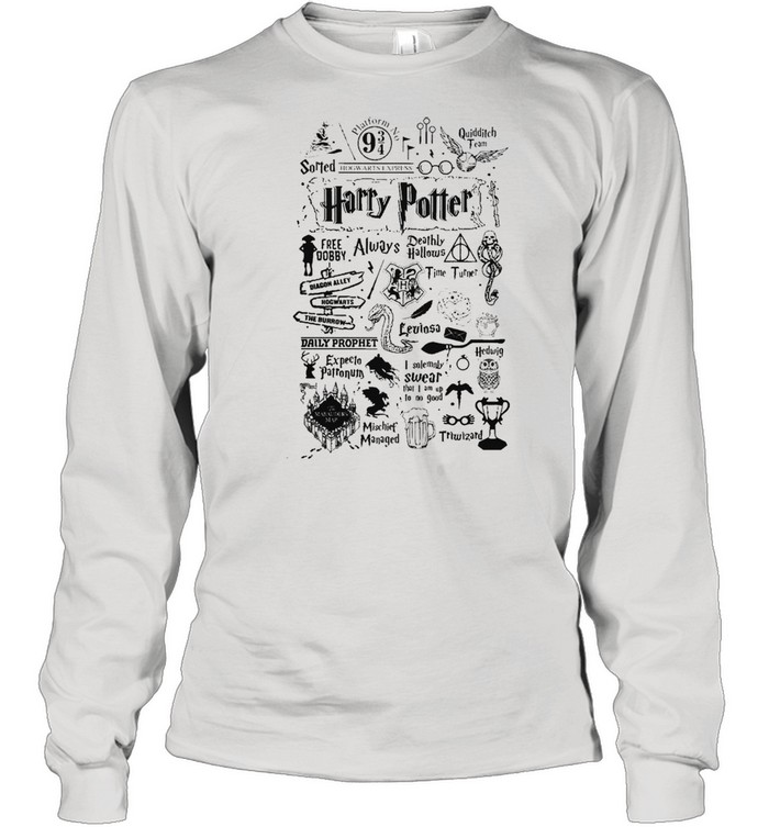 harry potter free dobby always deathly hallows shirt long sleeved t shirt