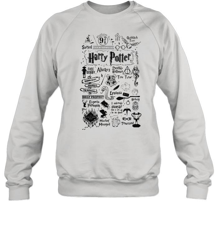 harry potter free dobby always deathly hallows shirt unisex sweatshirt