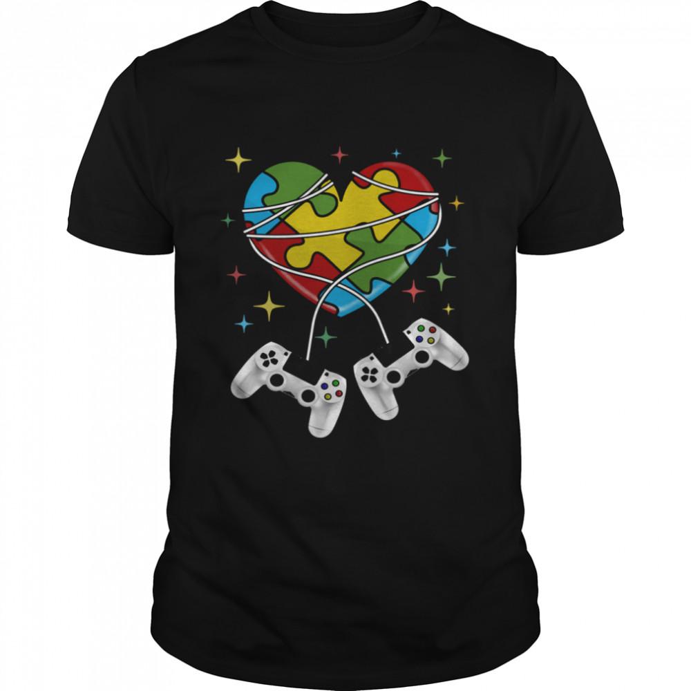 Autism Game Autism Awareness Month Day  Classic Men's T-shirt