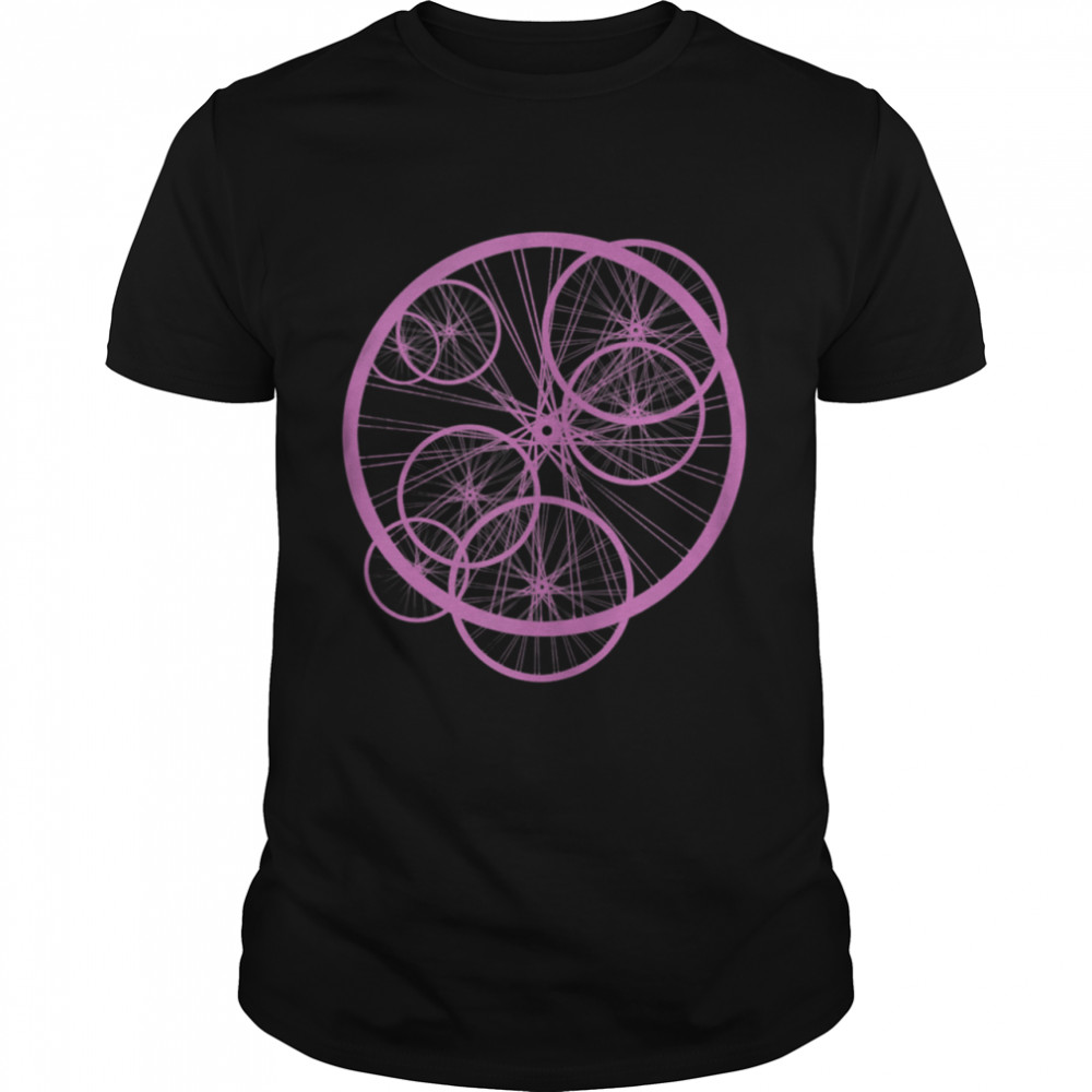 Bicycle Wheel Bike Cyclist  Classic Men's T-shirt