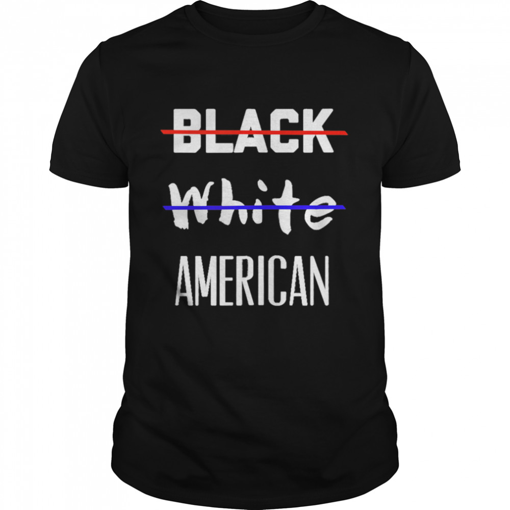 Black White America  Classic Men's T-shirt