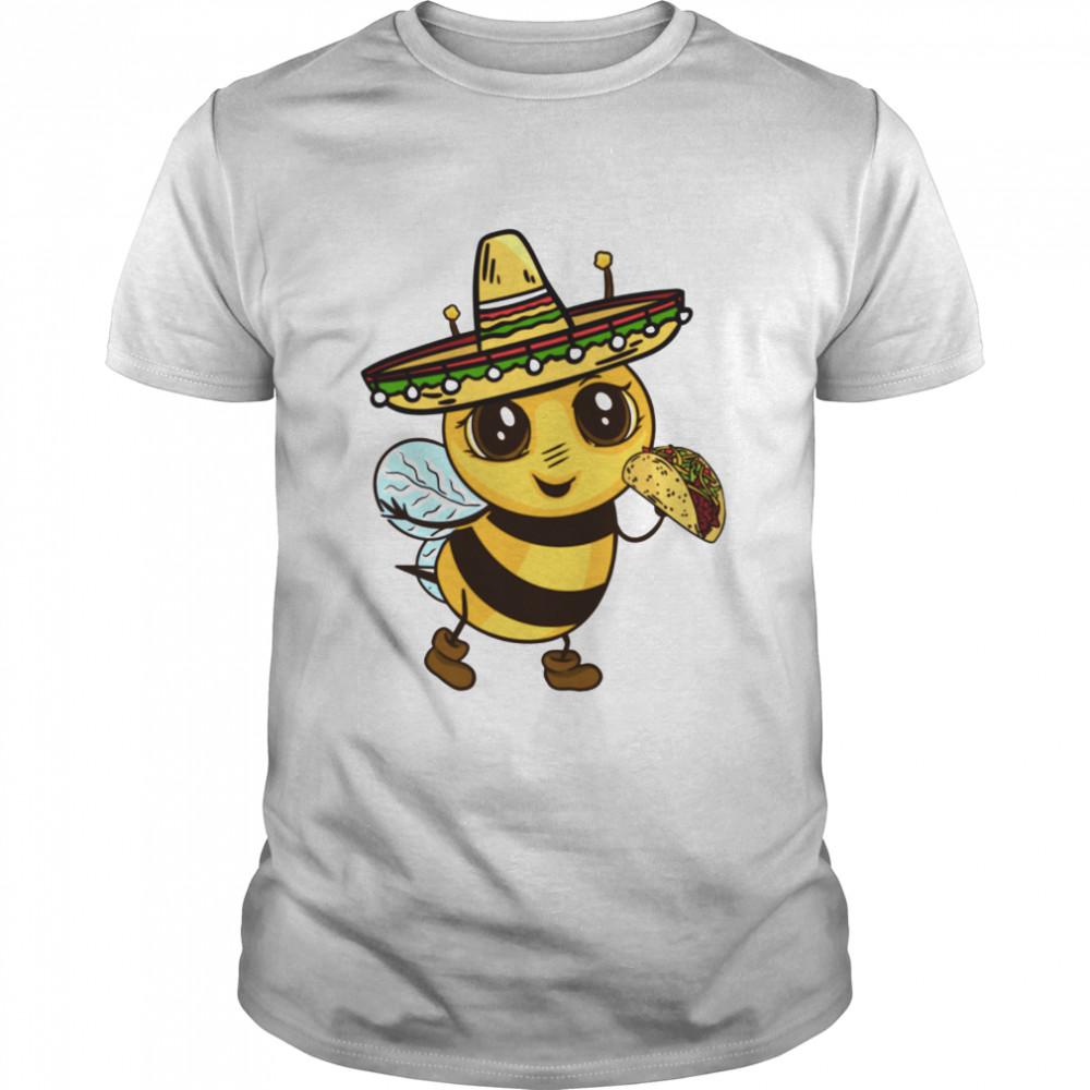 Cinco De Mayo Bee  Classic Men's T-shirt
