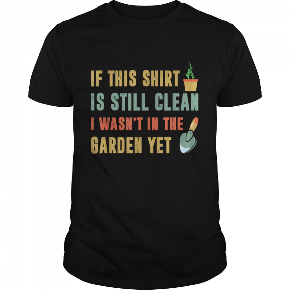 gardening and garden work for gardener shirt Classic Men's T-shirt