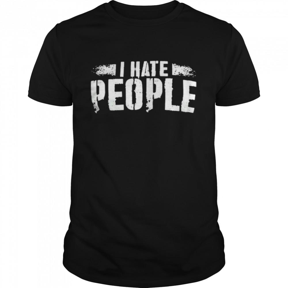I hate people shirt Classic Men's T-shirt