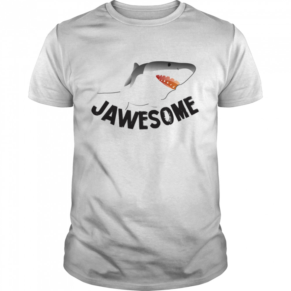 JAWESOME Shark  Classic Men's T-shirt