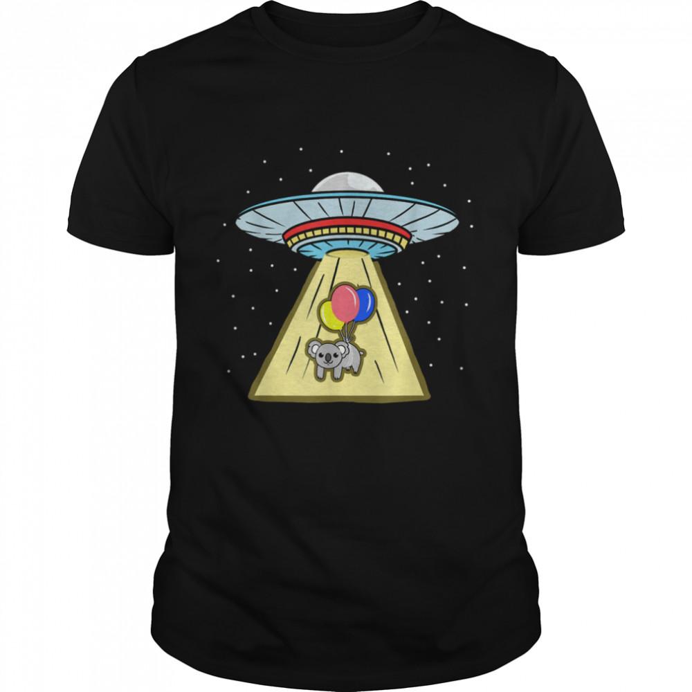 Koala Balloon Ufo Abduction  Classic Men's T-shirt
