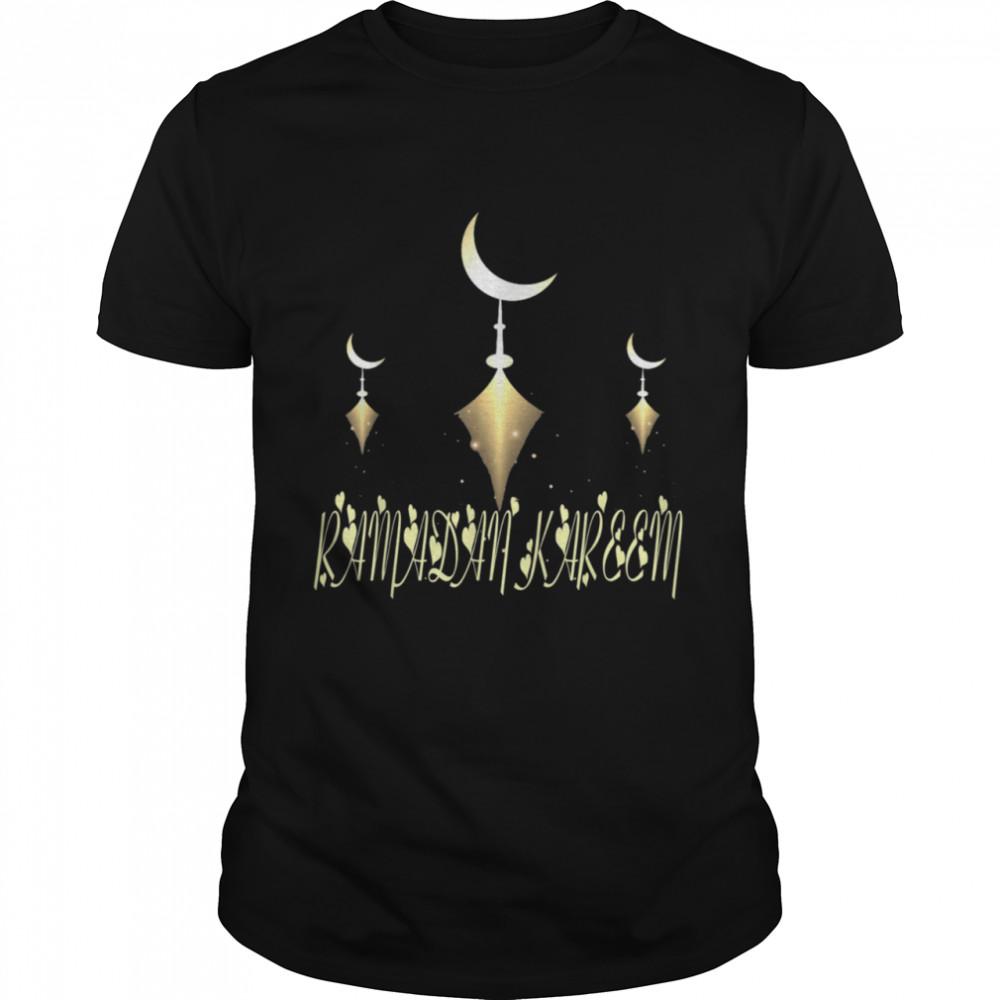 Muslim Fasting Ramadan Mubarak Happy Ramadan Kareem  Classic Men's T-shirt