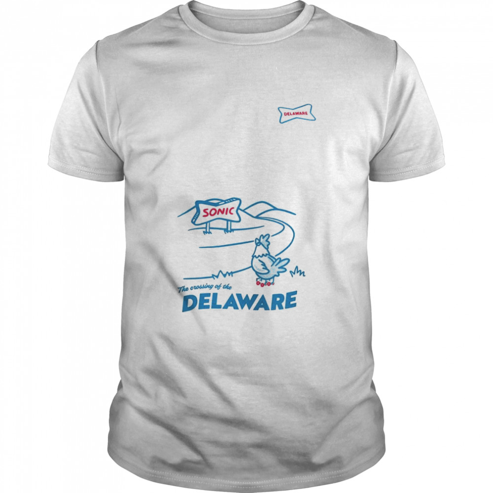 Sonic The crossing of the Delaware shirt Classic Men's T-shirt