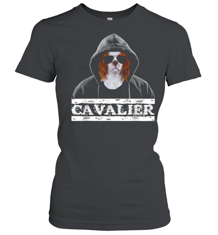 Adorable Celebrity Cavalier king Charles Spaniel Dog  Classic Women's T-shirt