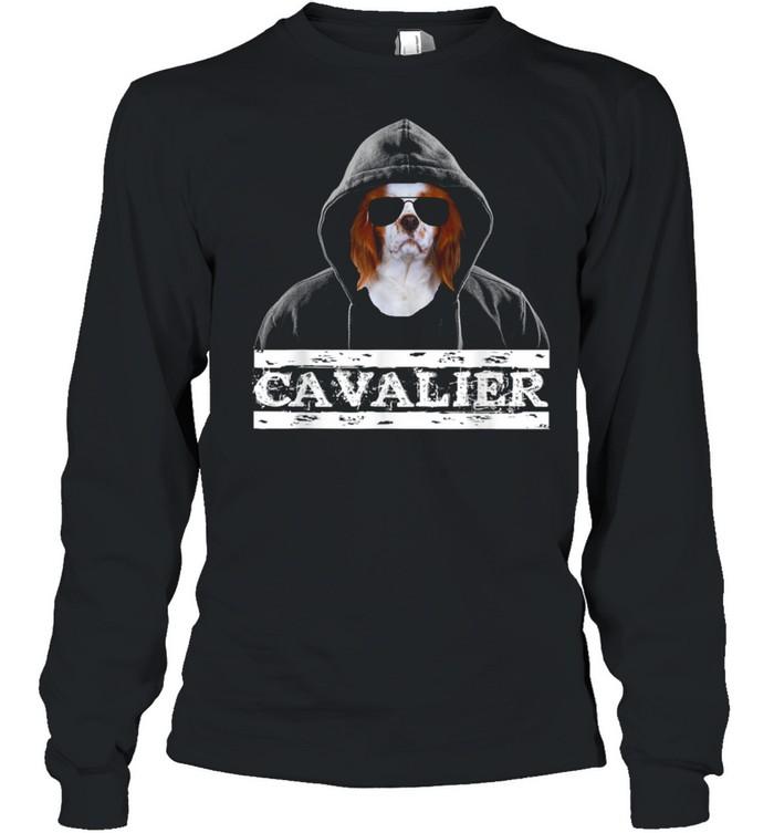 Adorable Celebrity Cavalier king Charles Spaniel Dog  Long Sleeved T-shirt