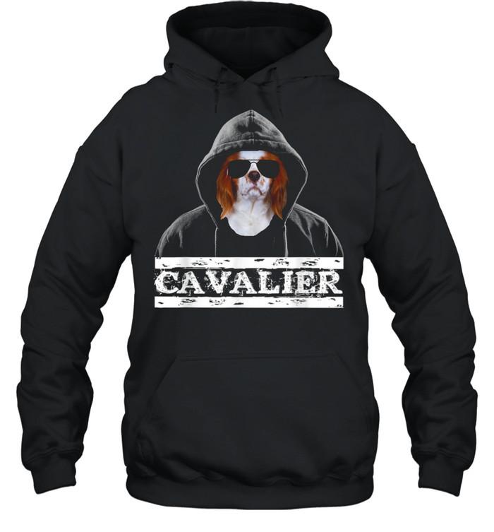 Adorable Celebrity Cavalier king Charles Spaniel Dog  Unisex Hoodie