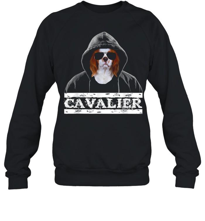 Adorable Celebrity Cavalier king Charles Spaniel Dog  Unisex Sweatshirt