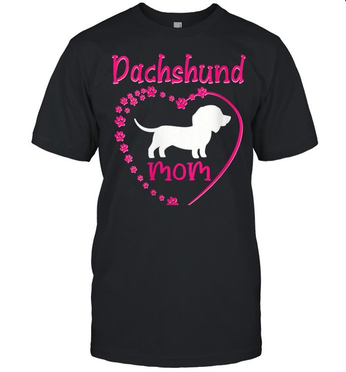 Dachshund Mom Weenie Mama shirt Classic Men's T-shirt