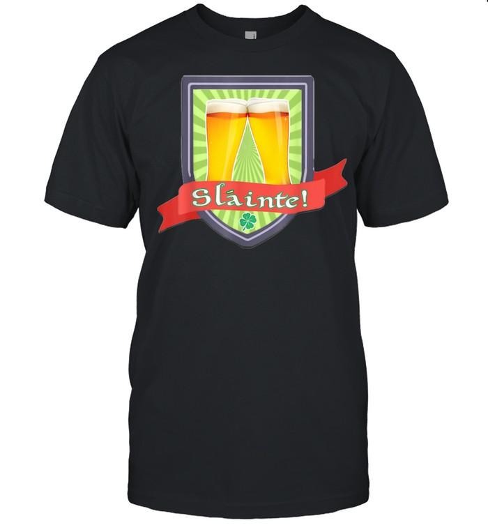 Slainte Drinking Toast  Classic Men's T-shirt