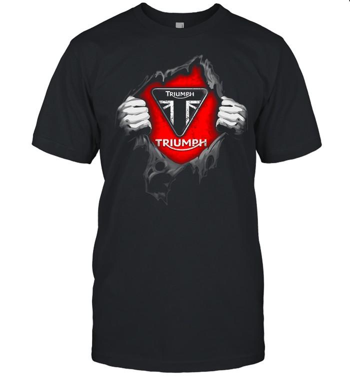 Blood Inside Me Triumph shirt Classic Men's T-shirt
