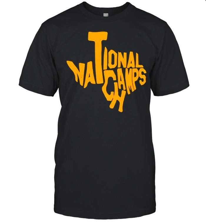 Texas map national champs shirt Classic Men's T-shirt