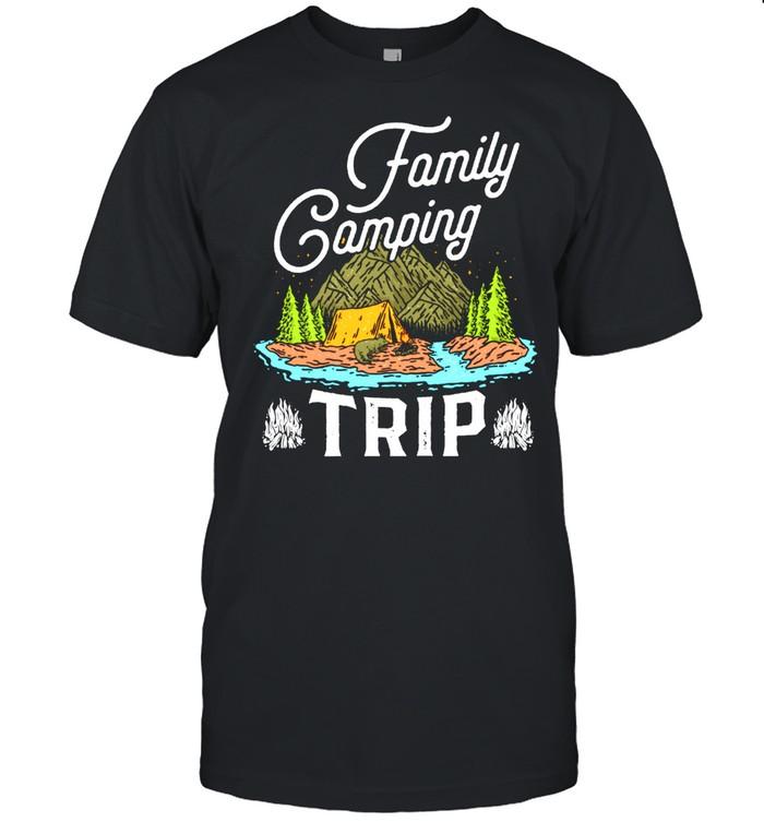 Matching Family Camping Trip  Matching Vacation shirt Classic Men's T-shirt
