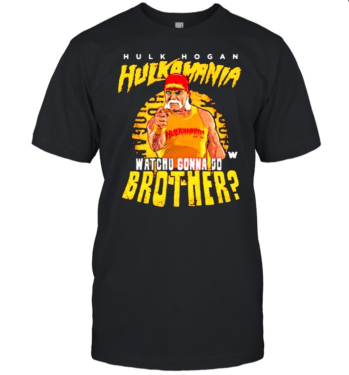 Hulk Hogan Whachu Gonna Do Brother signature shirt Classic Men's T-shirt