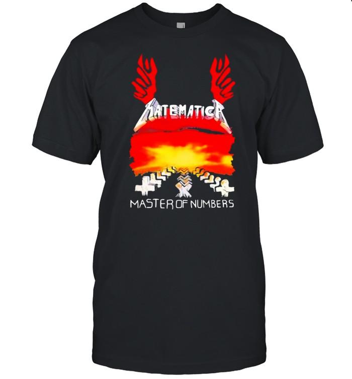 Matematica Master Of Number God  Classic Men's T-shirt