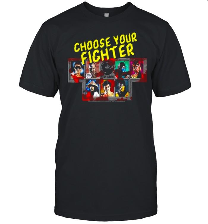 Mortal KomBat KlasSic Choose Your Fighter  Classic Men's T-shirt