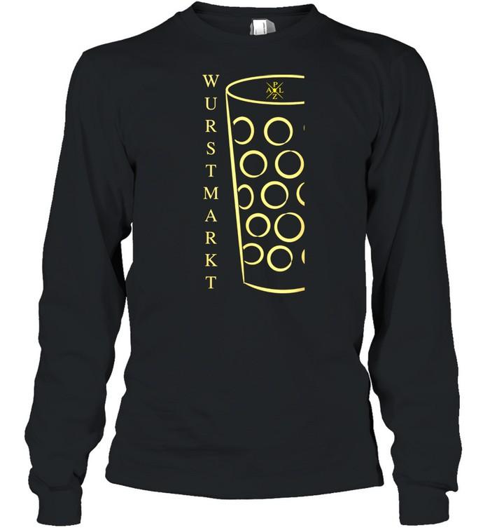Schorle Weinfest Pfalzwein Wurstmarkt Dubbeglas shirt Long Sleeved T-shirt