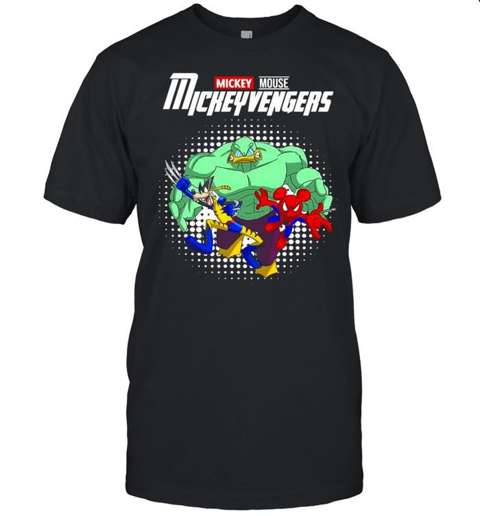 Marvel Mickey Mouse Mickeyvengers shirt Classic Men's T-shirt