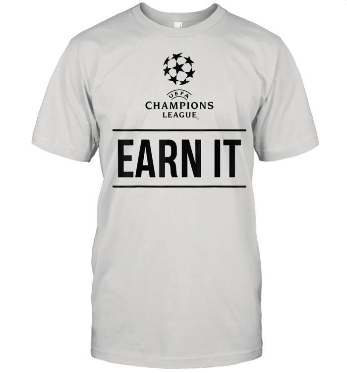 UEFA Champions League Earn It  Classic Men's T-shirt