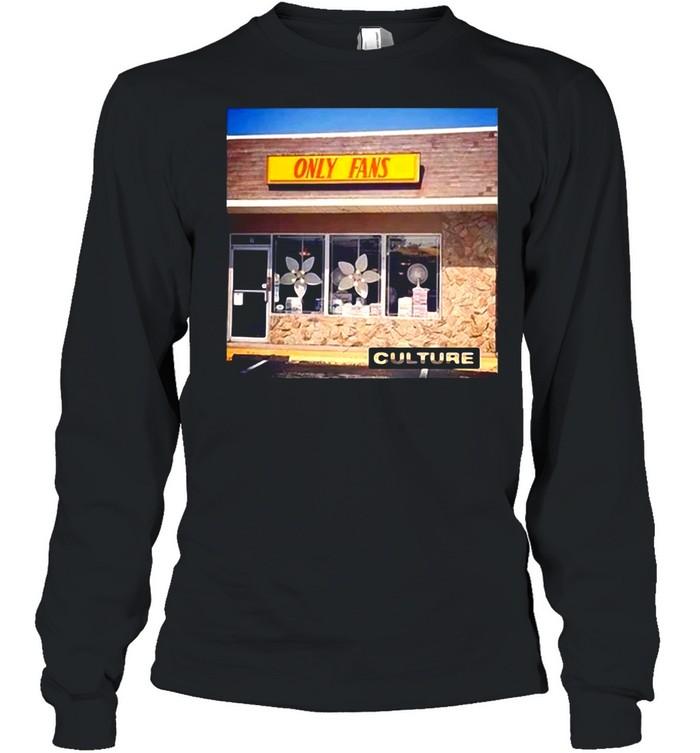 Culture Only fans T-sshirt Long Sleeved T-shirt
