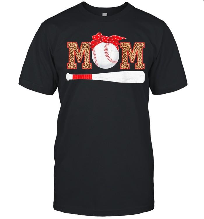 Baseball Mom Leopard shirt Classic Men's T-shirt