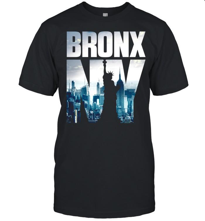 Bronx, NYC Skyline, New York City Skyline shirt Classic Men's T-shirt