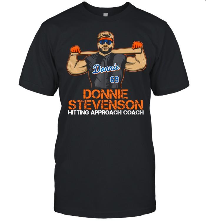 Donnie Stevenson Hitting Approach Coach  Classic Men's T-shirt