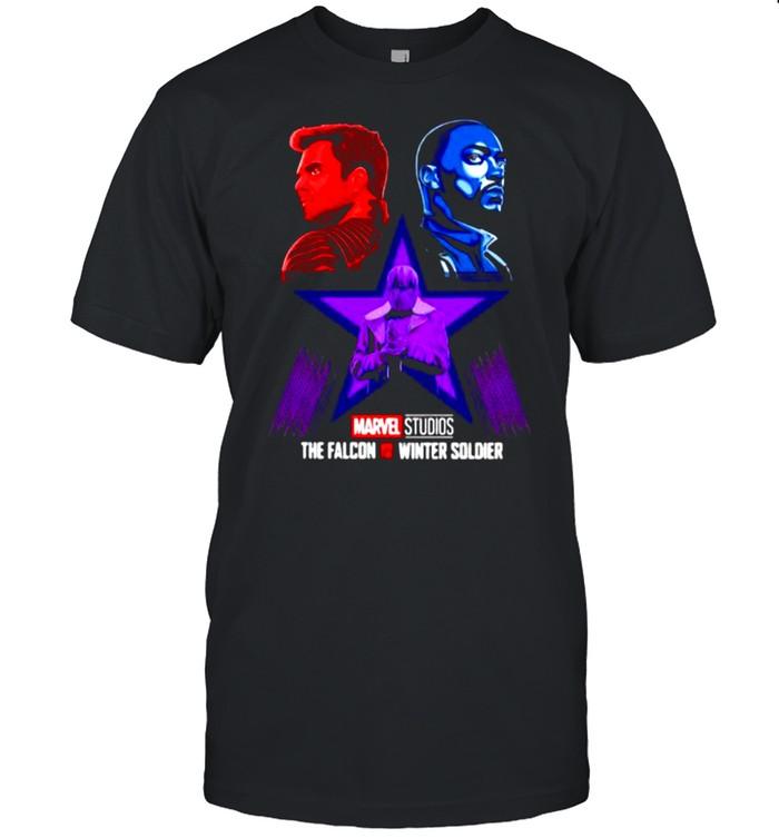 Marvel studios Falcon and Winter Soldier Baron  Classic Men's T-shirt