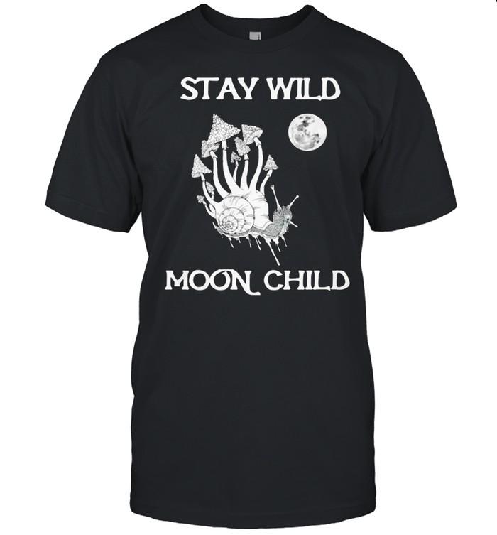 Stay Wild Moon child shirt Classic Men's T-shirt