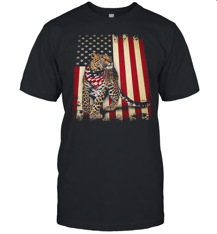 Tiger Leopard Panther American shirt Classic Men's T-shirt