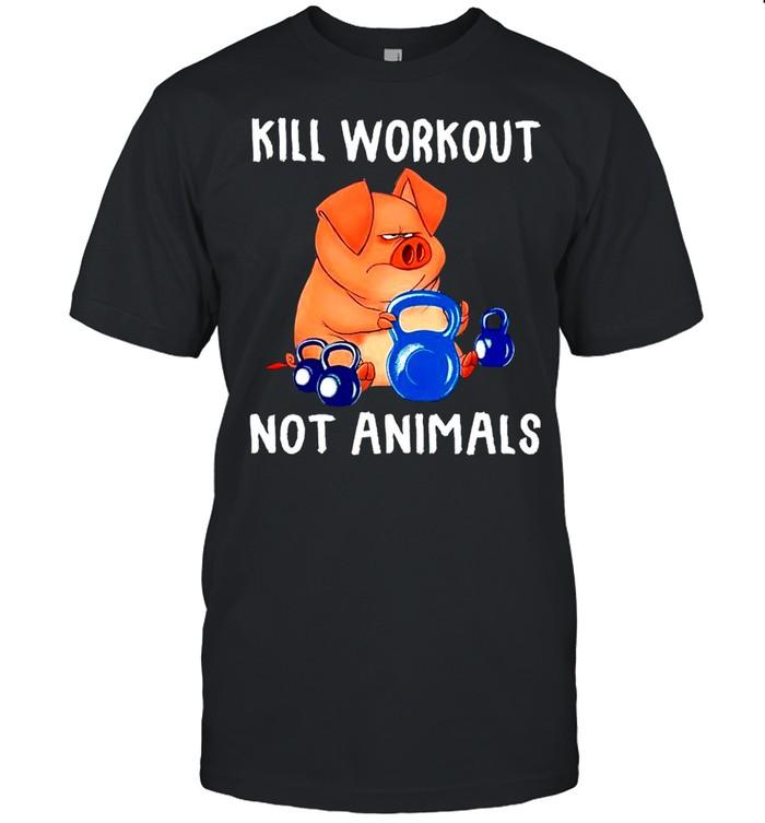 Kill workout not animals shirt Classic Men's T-shirt