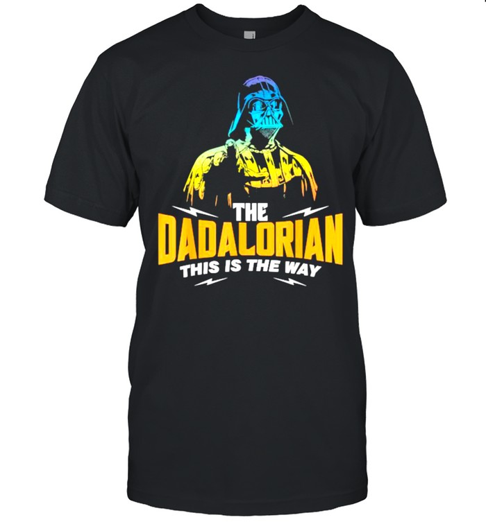 The Dadalorian This is the way T- Classic Men's T-shirt